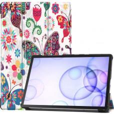 Чехол для Samsung Galaxy Tab S6 10.5 с рисунком Butterfly