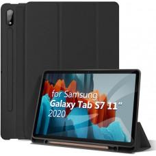 Чехол для Samsung Galaxy Tab S7 с креплением под стилус черный