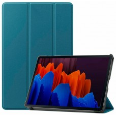 Чехол для Samsung Galaxy Tab S7 бирюзовый полиуретановый