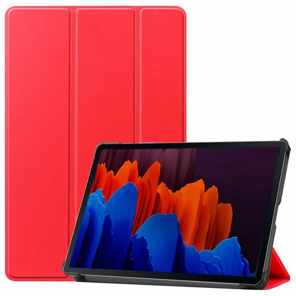 Чехол для Samsung Galaxy Tab S7 красный полиуретановый