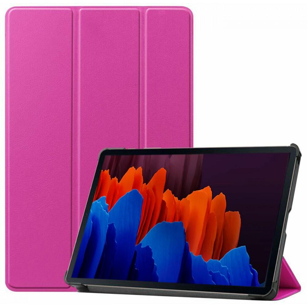 Чехол для Samsung Galaxy Tab S7 фиолетовый полиуретановый