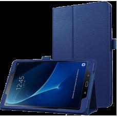 Чехол для Samsung Galaxy Tab A 10.1 2016 синий кожаный