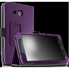 Чехол для планшета Samsung Galaxy Tab A 7.0 2016 кожаный фиолетовый