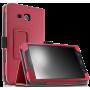 Чехол для планшета Samsung Galaxy Tab A 7.0 2016 кожаный красный