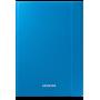 Чехол для Samsung Galaxy Tab A 9.7 Book Cover синий, ткань