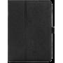 """Чехол для Samsung Galaxy Tab S2 9.7"""" черный кожаный"""