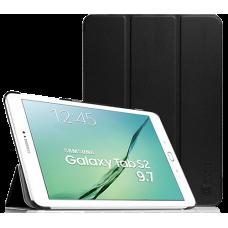 """Чехол для Samsung Galaxy Tab S2 9.7"""" черный полиуретановый"""