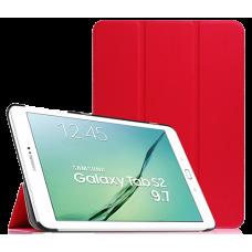 """Чехол для Samsung Galaxy Tab S2 9.7"""" красный полиуретановый"""