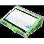 Чехол для ASUS ZenPad 10 зеленый кожаный