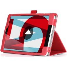 Чехол для Huawei MediaPad M5 8.4 красный кожаный