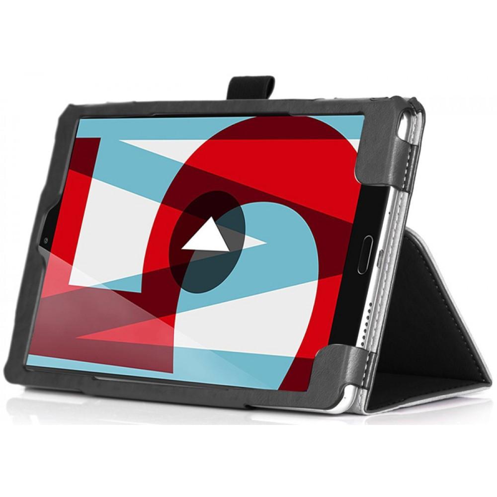 Чехол для Huawei MediaPad M5 8.4 черный кожаный