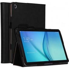 Чехол для Huawei MediaPad M5 Lite 10 черный кожаный