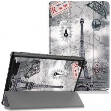 Чехол для Huawei MediaPad M5 Lite 10 с Рисунком Эйфелева Башня