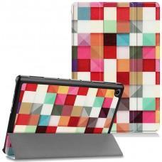 Чехол для Huawei MediaPad M5 Lite 10 с Рисунком Кубики