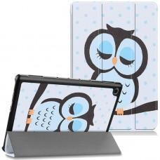 Чехол для Huawei MediaPad M5 Lite 10 с Рисунком Сова