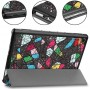 Чехол для Huawei MediaPad M5 Lite 10 с Рисунком Треугольники
