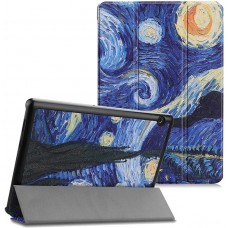 Чехол для Huawei MediaPad M5 Lite 10 с Рисунком Звездная ночь