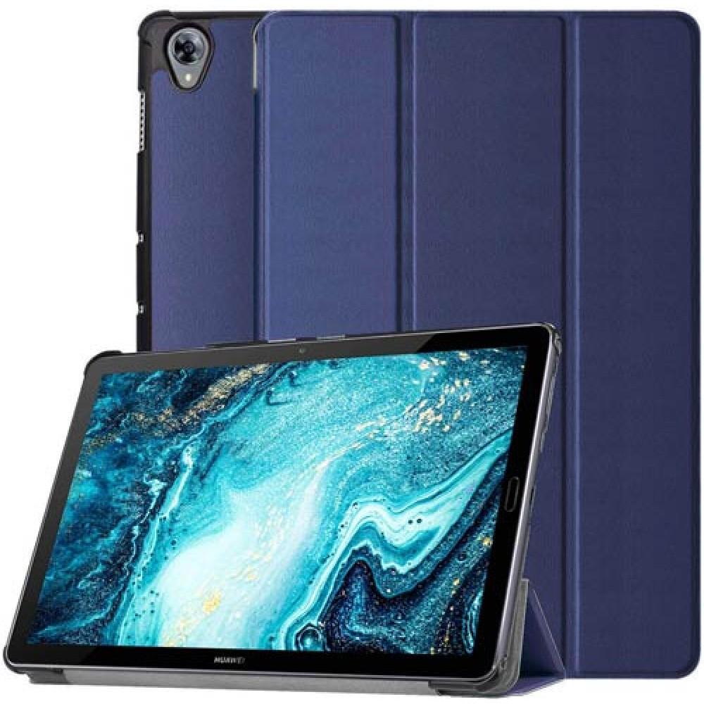 Чехол для Huawei MediaPad M6 10.8 темно-синий полиуретановый