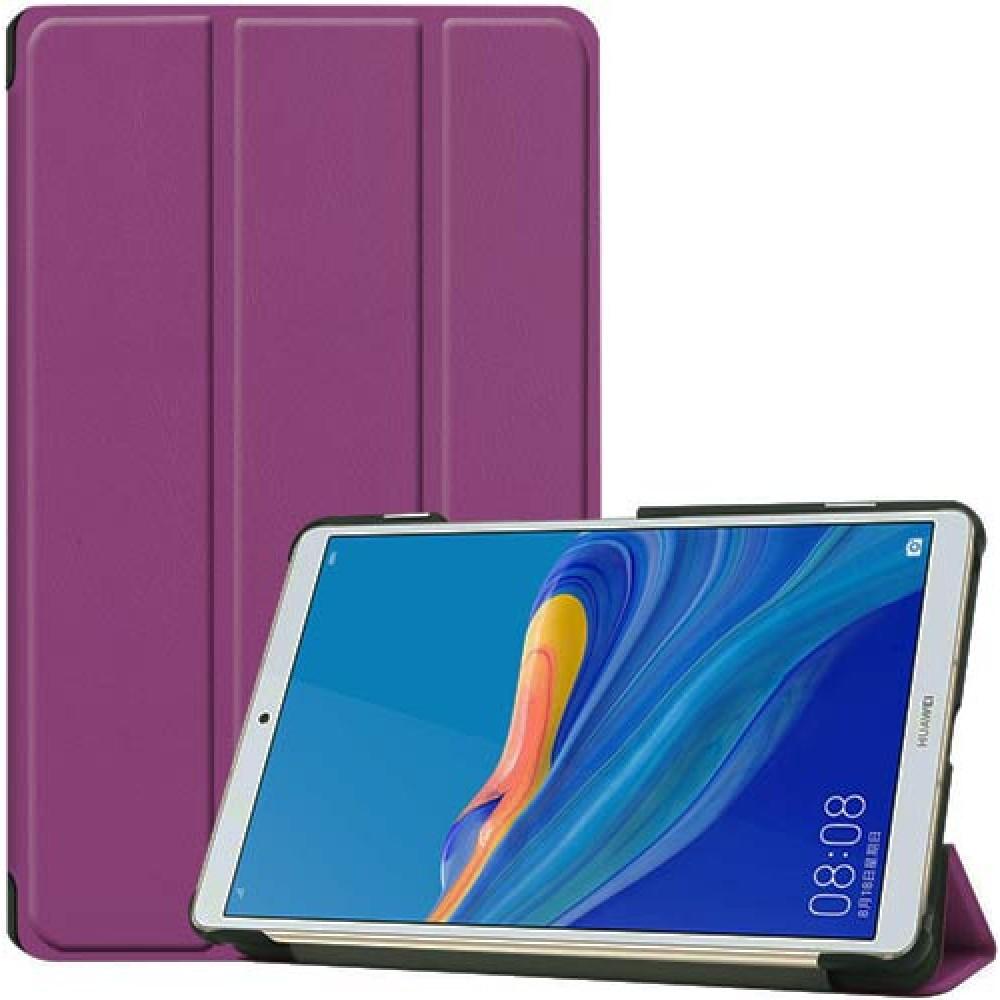 Чехол для Huawei MediaPad M6 8.4 фиолетовый полиуретановый