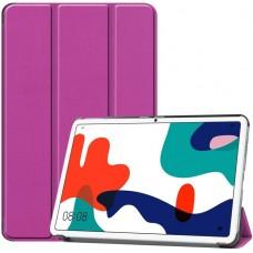 Чехол для Huawei MatePad 10.4 фиолетовый полиуретановый