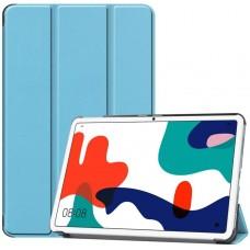 Чехол для Huawei MatePad 10.4 голубой полиуретановый