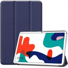 Чехол для Huawei MatePad 10.4 синий полиуретановый