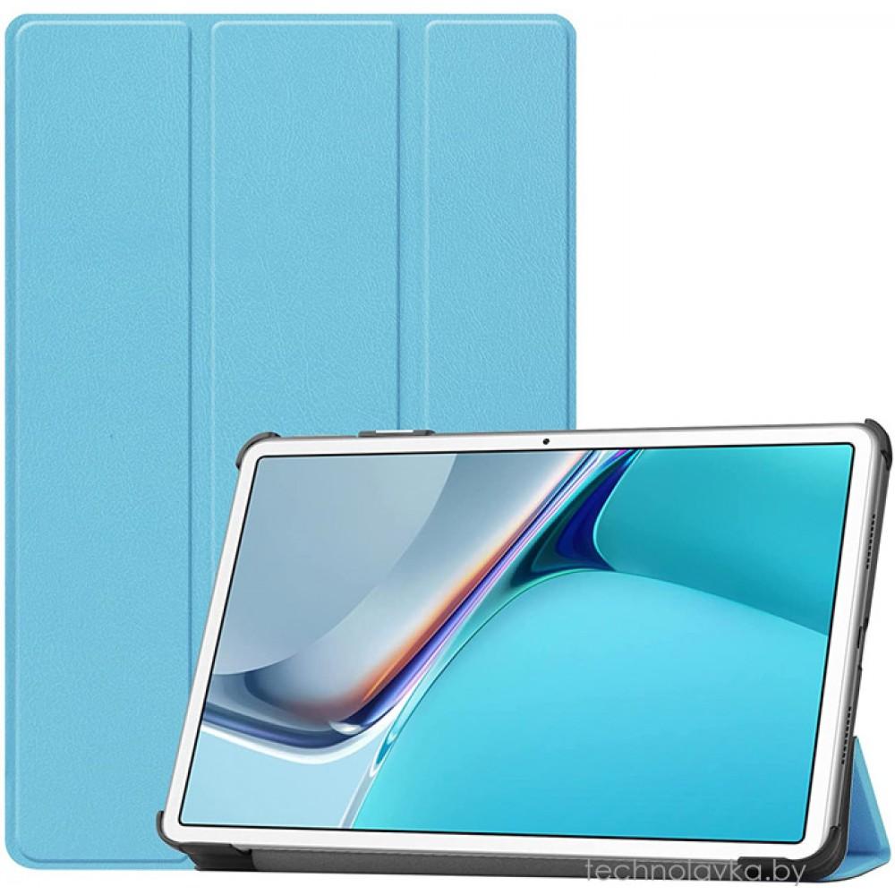 Чехол для Huawei MatePad 11 голубой полиуретановый
