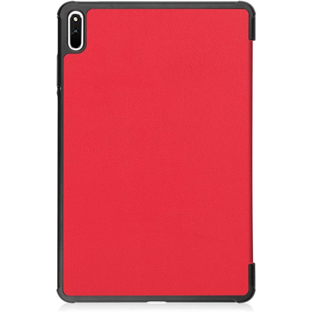 Чехол для Huawei MatePad 11 красный полиуретановый