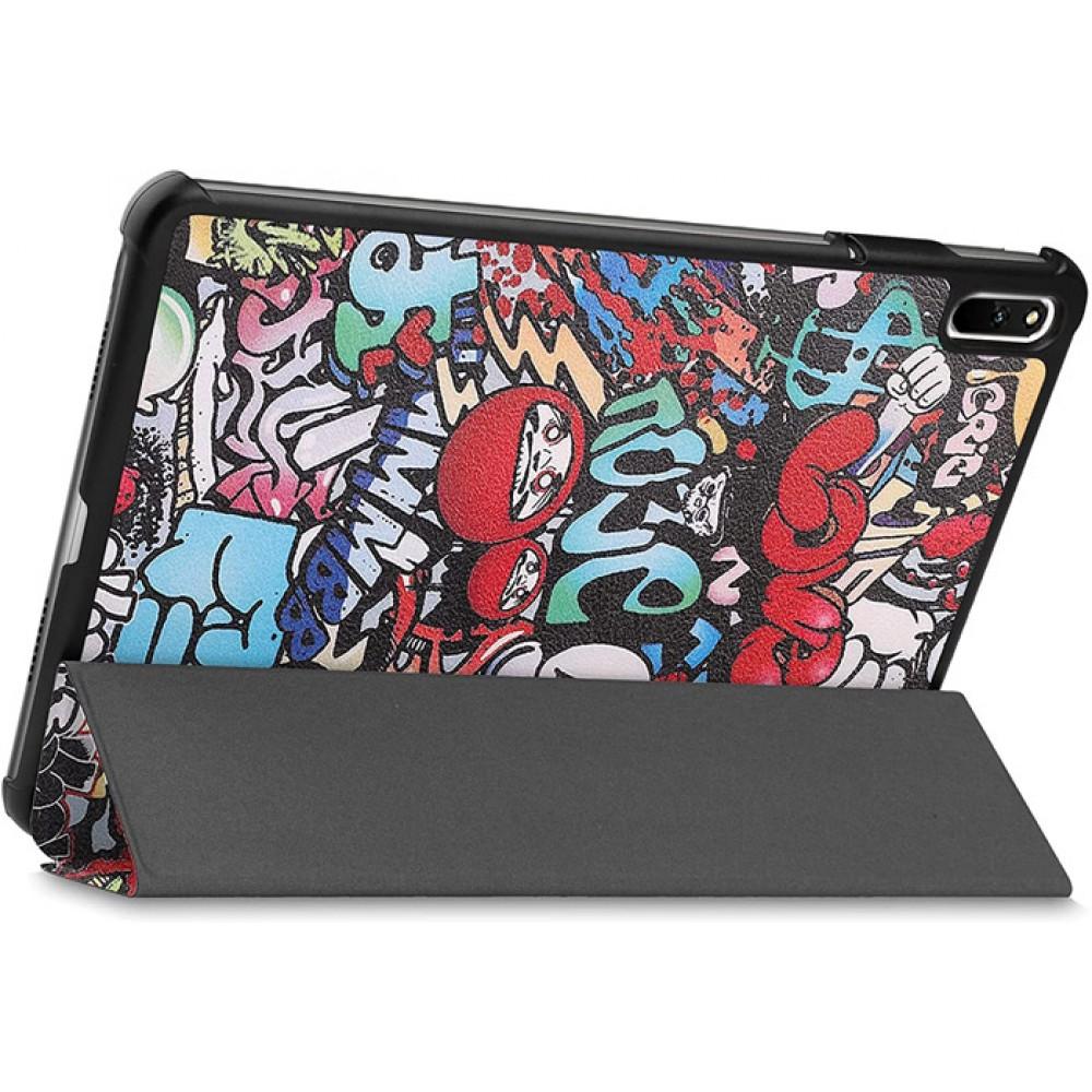 Чехол для Huawei MatePad 11 с рисунком Graffiti полиуретановый