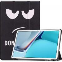 Чехол для Huawei MatePad 11 с рисунком Smile полиуретановый