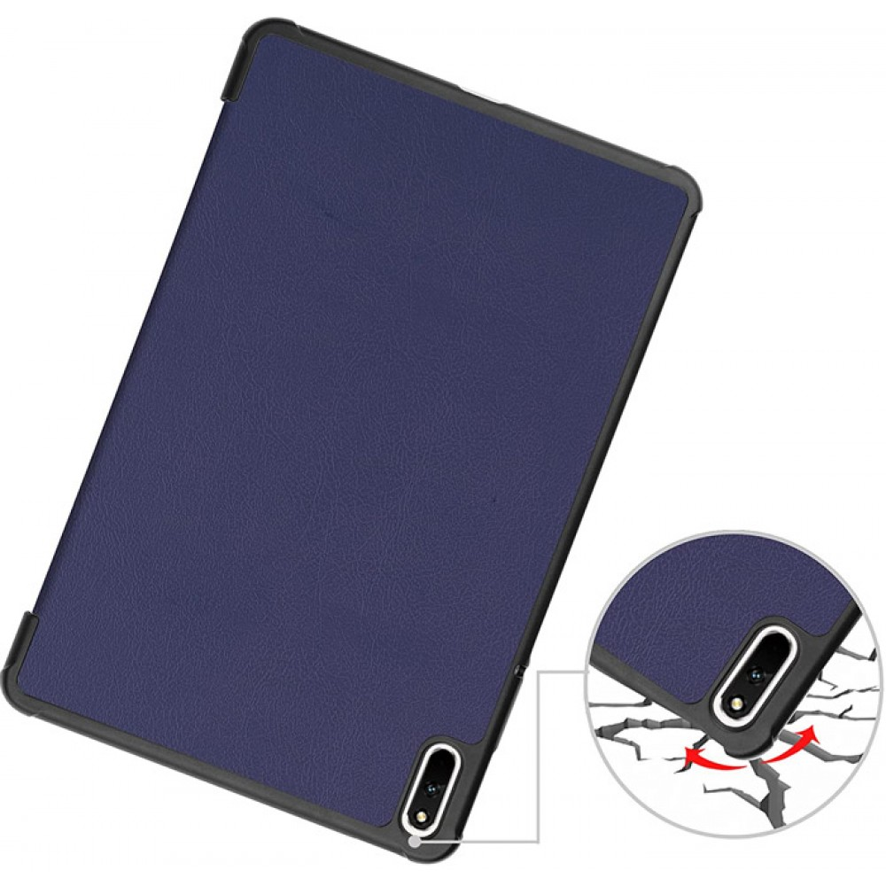 Чехол для Huawei MatePad 11 синий полиуретановый