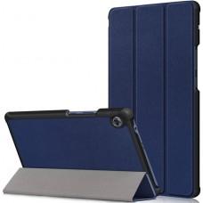 Чехол для Huawei MatePad T8 темно-синий полиуретановый