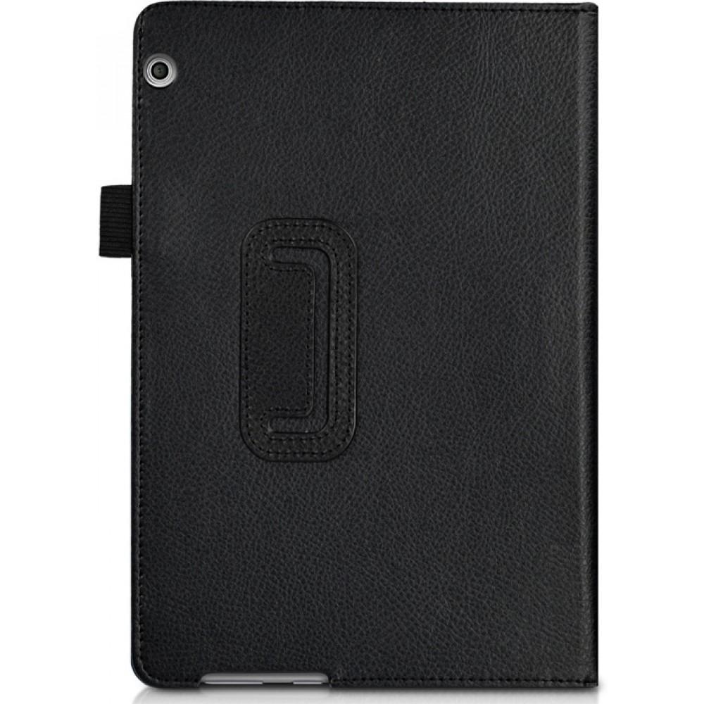 Чехол для Huawei MediaPad T3 10.0 черный кожаный