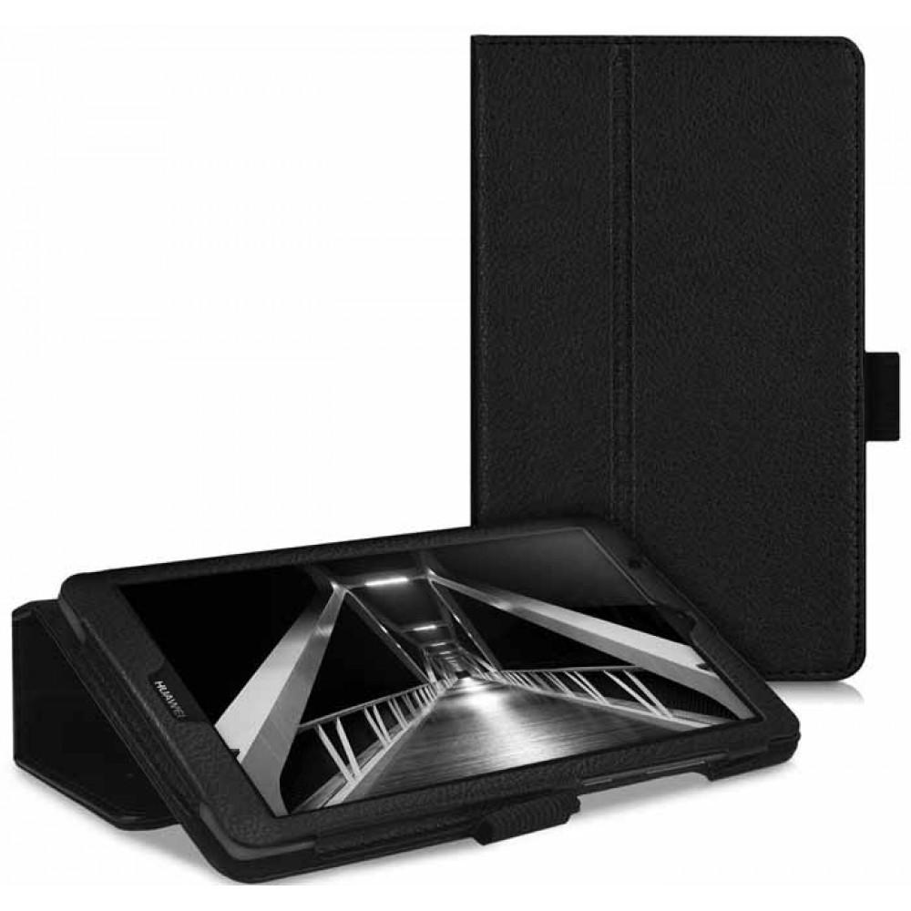 Чехол для Huawei MediaPad T3 7.0 черный кожаный