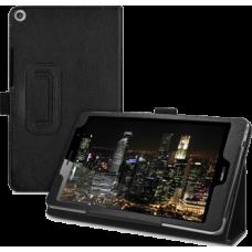 Чехол для Huawei Mediapad T3 8.0 черный кожаный