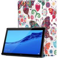 Чехол для Huawei MediaPad T5 10 с Рисунком Бабочки