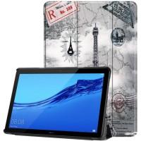 Чехол для Huawei MediaPad T5 10 с Рисунком Эйфелева Башня