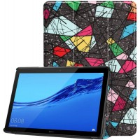 Чехол для Huawei MediaPad T5 10 с Рисунком Треугольники