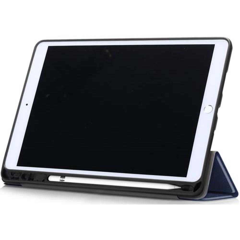 Чехол для iPad 10.2 2019 / 2020 с креплением под стилус синий