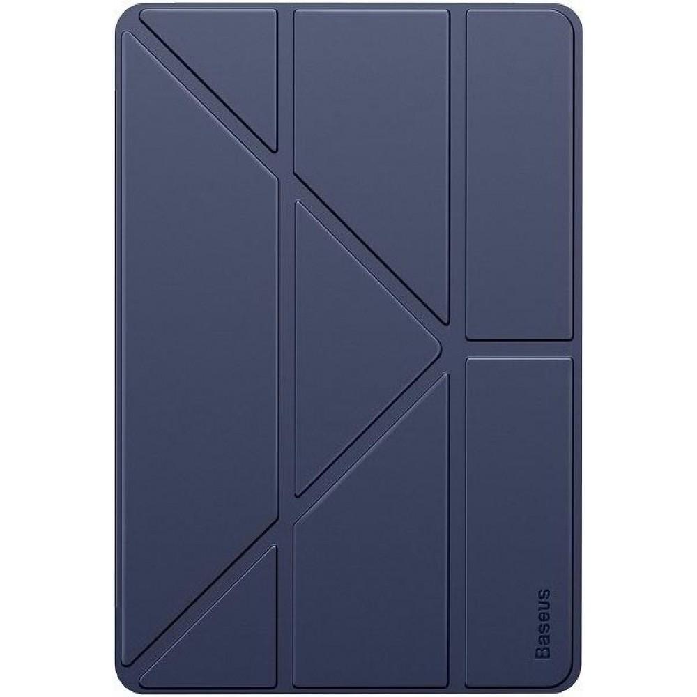 Чехол для iPad 10.2 2019 / 2020 Baseus Jane Y-Type Leather Case LTAPIPD-G03 Blue
