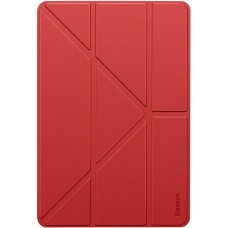Чехол для iPad 10.2 2019 Baseus Jane Y-Type Leather Case LTAPIPD-G09 Red