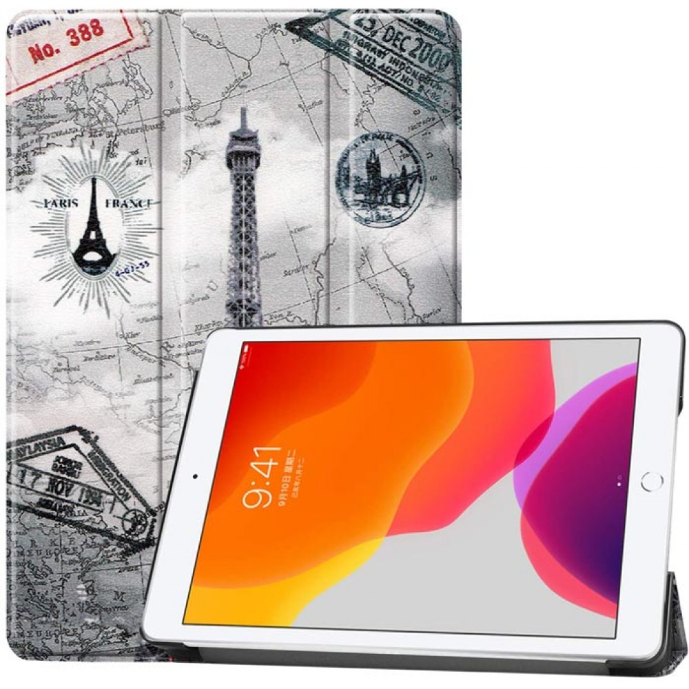Чехол для iPad 10.2 2019 / 2020 с рисунком Eiffel Tower