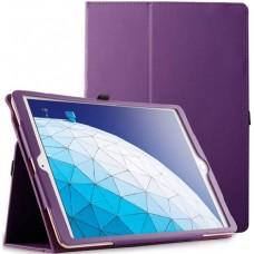 Чехол для Apple iPad Air 3 2019 кожаный фиолетовый