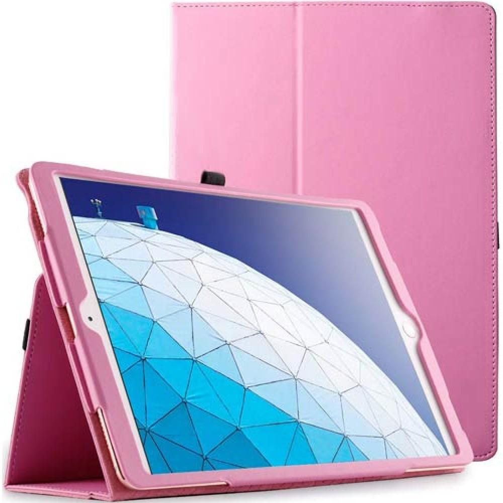 Чехол для Apple iPad Air 3 2019 кожаный розовый