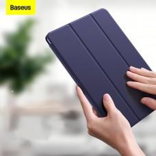 Чехол для iPad Air 4 10.9 Baseus Simplism Magnetic Leather Case Blue LTAPIPD-GSM03