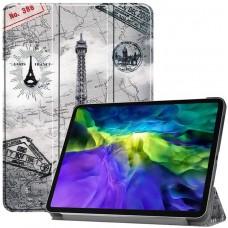 Чехол для iPad Pro 11 2020 с рисунком Eiffel Tower