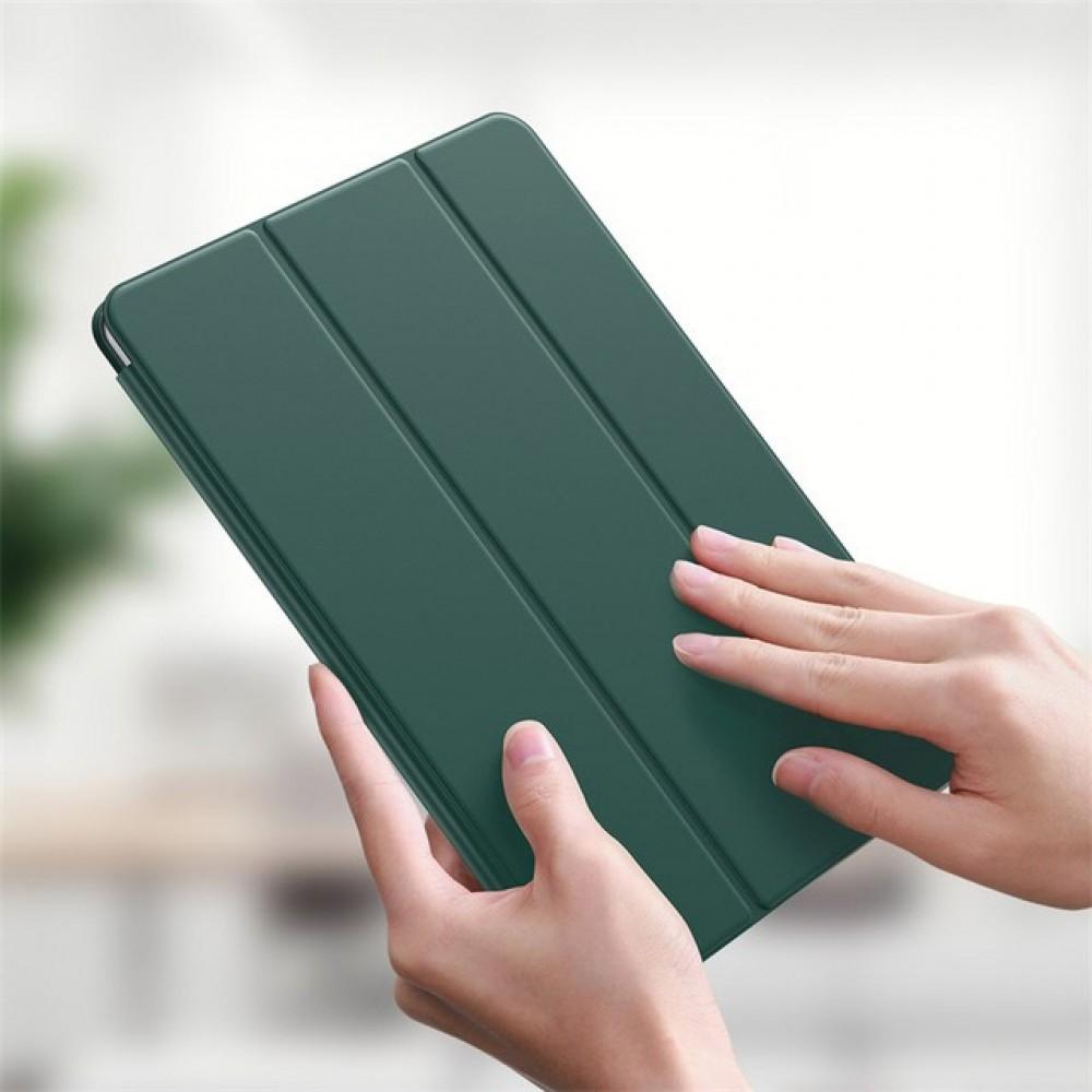 Чехол для iPad Pro 12.9 2020 Baseus Simplism Magnetic Leather Case Green LTAPIPD-FSM06