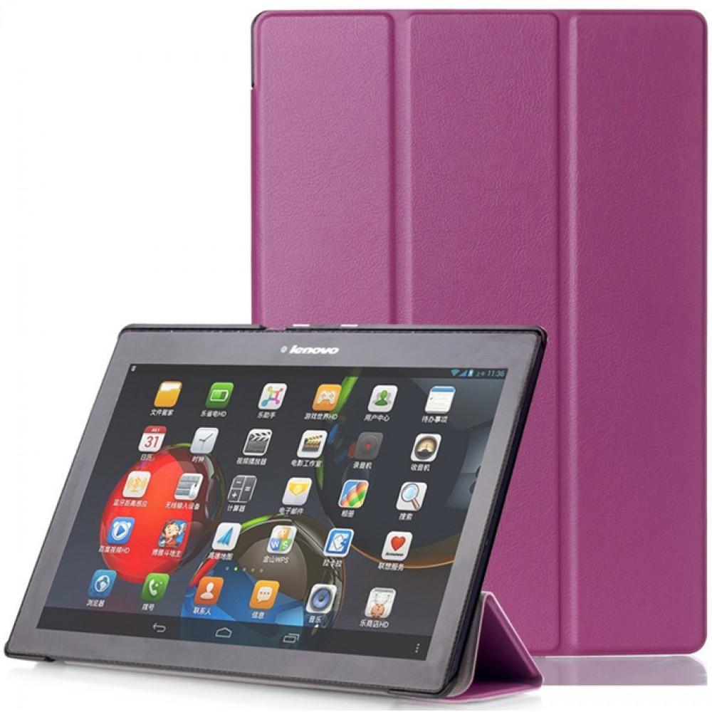 Чехол для Lenovo Tab 10 TB-X103F фиолетовый