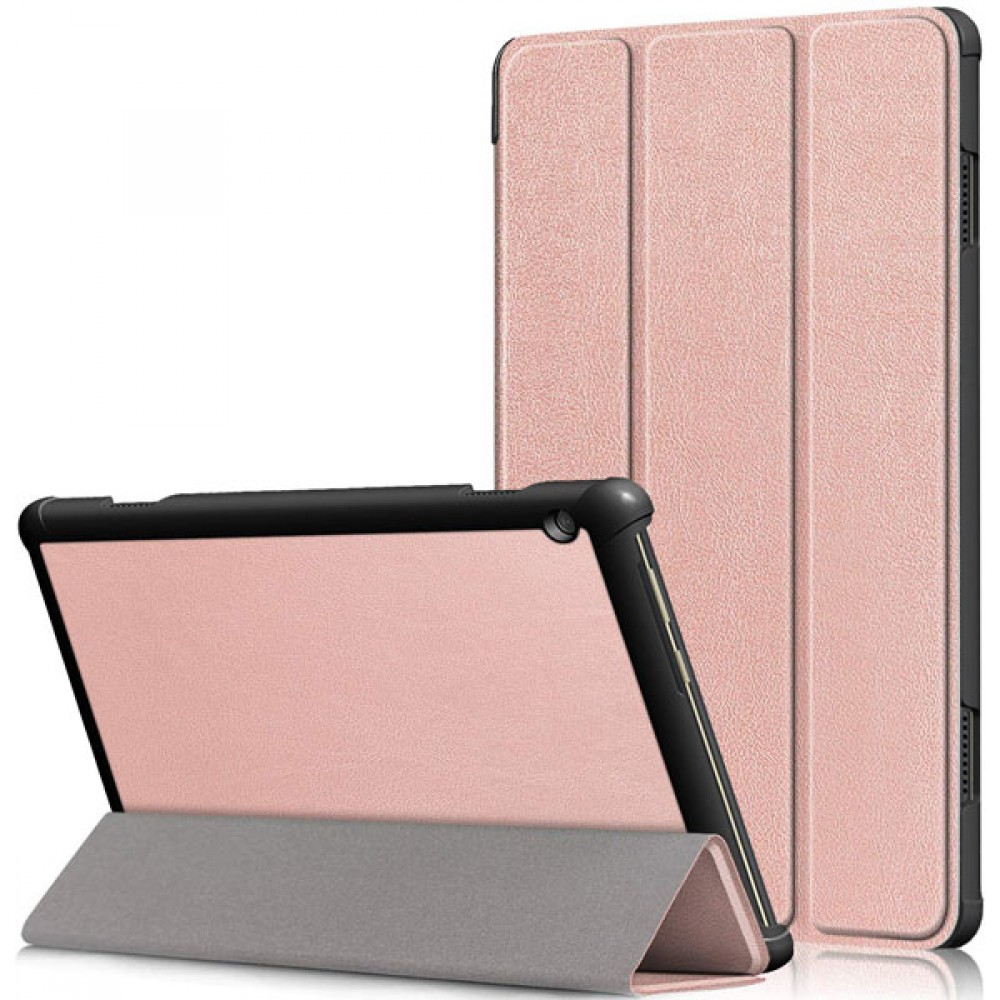 Чехол для Lenovo Tab M10 TB-X605 / TB-X505 золотисто-розовый