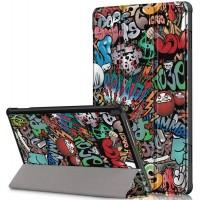 Чехол для Lenovo Tab M10 TB-X605L / TB-X605F с рисунком Graffiti